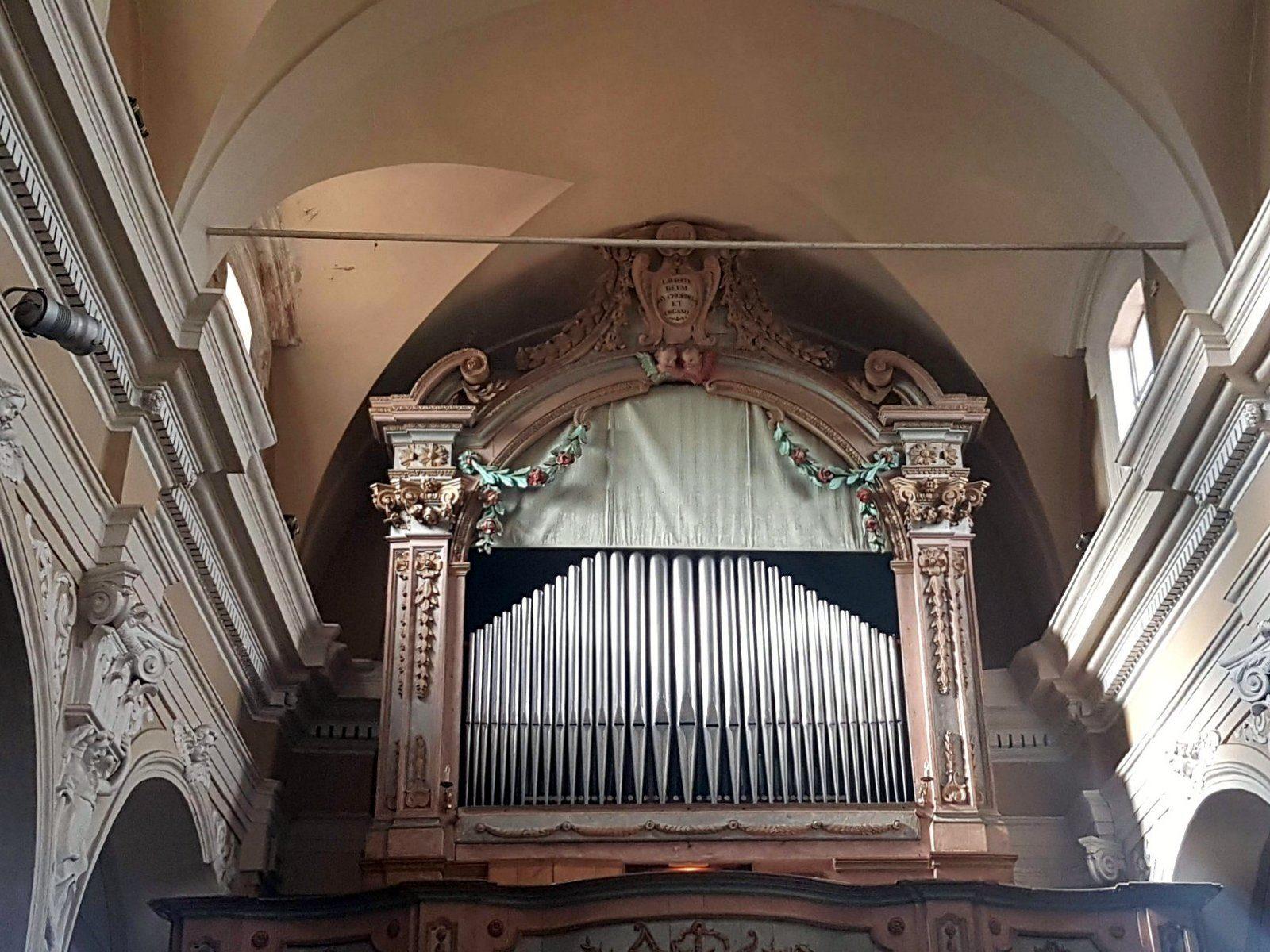 Organo Giovanni Bruna, 1794 (Festival Musica Antica a Magnano)
